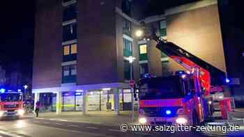 Feuerwehr löscht Brand in Braunschweiger Innenstadt