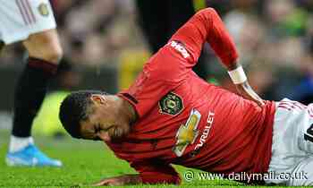Marcus Rashford gives Manchester United major injury worry ahead of Liverpool clash