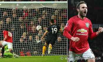 Manchester United 1-0 Wolves: Juan Mata goal sends hosts through