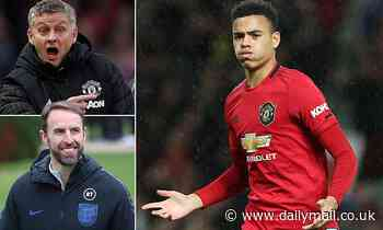 Gareth Southgate could clash with Ole Gunnar Solskjaer as he considers Mason Greenwood for Euro 2020