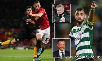 Manchester United's drab midfield display against Wolves showed just why they need Bruno Fernandes