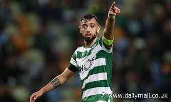 Man Utd target Bruno Fernandes will say goodbye to Sporting Lisbon in Benfica clash