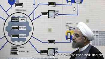 Signale aus Teheran: Ruhani: Iran will nicht komplett aus Atomabkommen aussteigen