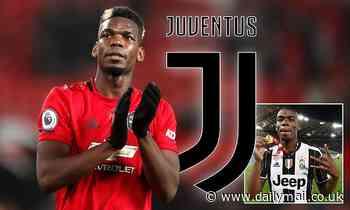 Real Madrid's £47m deal for Donny van de Beek 'opens the door for Paul Pogba to return to Juventus'