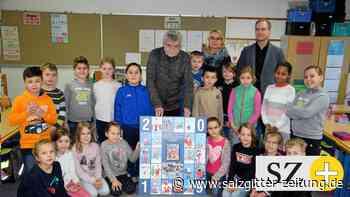 Taffe Weihnachtsmänner für Gifhorner Grundschüler