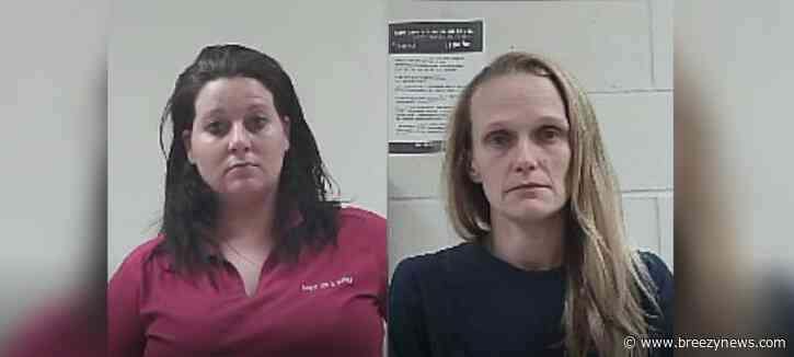 Two Neshoba Co. women allegedly caught stealing (VIDEO)