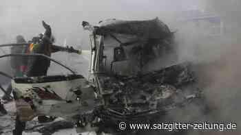Russische Luftangriffe: Schwere Kämpfe in Syrien - Mindestens 40 Kämpfer getötet