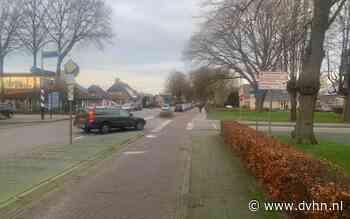 Ergernis over parkeren bij drukke T-splitsing Nieuw-Schoonebeek