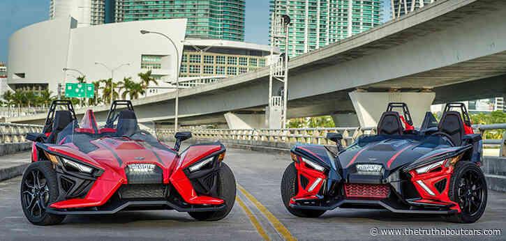 Revamped Polaris Slingshot Gains Goodies, Ditches GM Engine