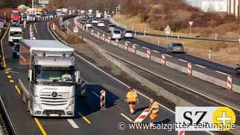 A39-Baustelle bei Wolfsburg: Geduldsprobe für die Autofahrer