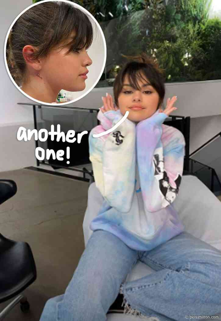 Selena Gomez Debuts 'Rare' Neck Tattoo In Honor Of Her New Album!