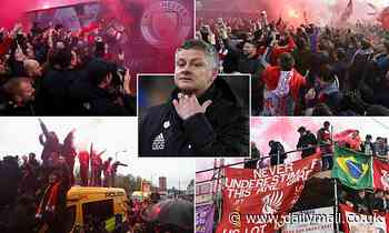 'Bring pints, pyros and flags': Liverpool fans plot hostile welcome for Manchester United's team bus