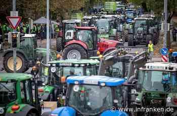 Große Bauern-Demo in Franken legt wahrscheinlich massiv Verkehr lahm