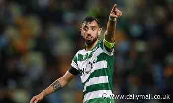 Manchester United target Bruno Fernandes is undervalued at £55m says Sporting Lisbon boss