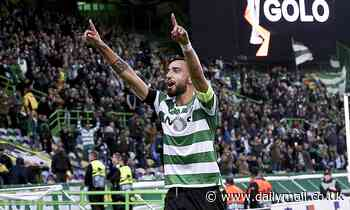 Manchester United 'want to seal £60m move for Bruno Fernandes TODAY'