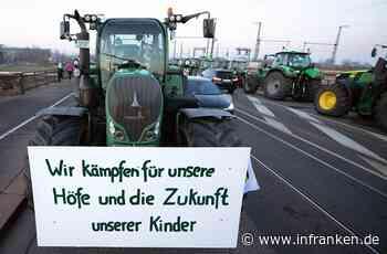 Große Bauern-Demo in Nürnberg: Polizei muss B14 sperren - erste Staus