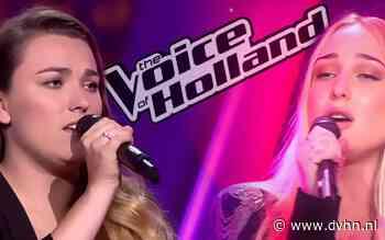 Twee Drentse zangeressen Esmée Smit en Daphne van Ditshuizen strijden vanavond in the battles van The Voice of Holland