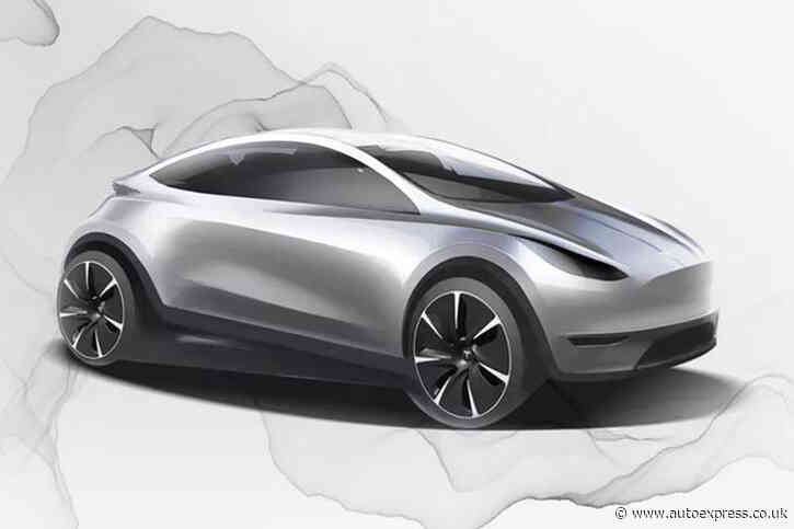New baby Tesla previewed in official design sketch