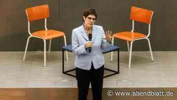 Gesellschaft: Kramp-Karrenbauer wirbt für Dienstpflicht-Vorschlag