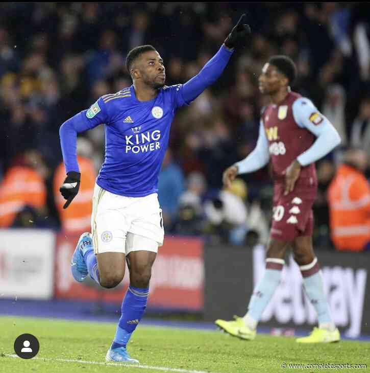 Taggart Backs Iheanacho To Maintain Top Form For Leicester City