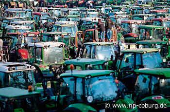 Frankens Bauern machen mobil