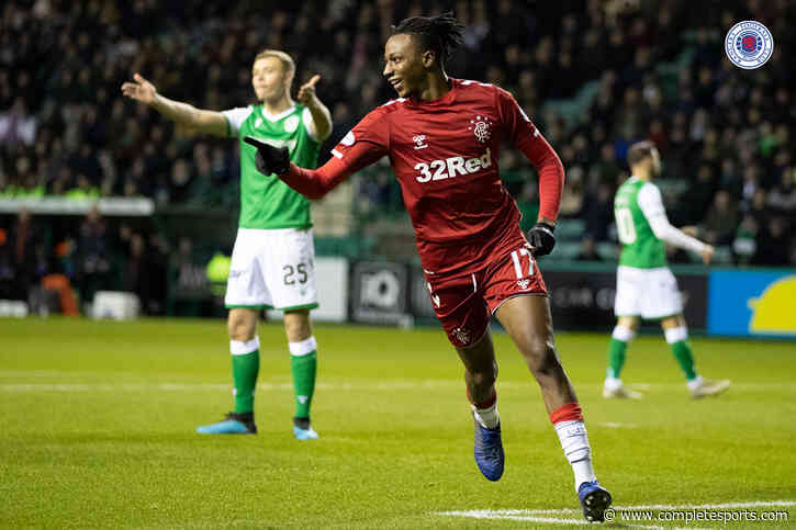 Aribo Wins Scottish League December Goal of The Month Award