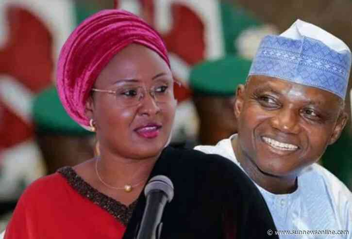 Aisha Buhari, Garba Shehu reconcile at son's wedding