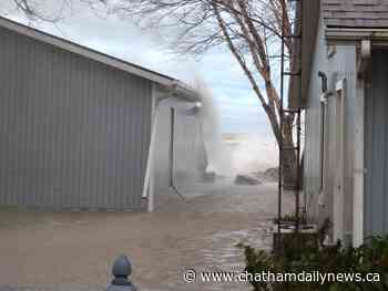 Wind forecast prompts flood watch for Lake Erie, Lake St. Clair areas