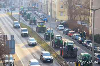 Tausende bei Trecker-Demo in Nürnberg: Söder fordert mehr Wertschätzung für bayerische Bauern