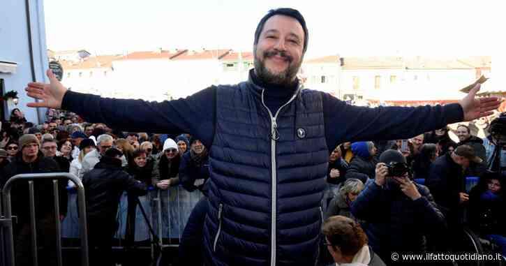 In Edicola sul Fatto Quotidiano del 18 Gennaio: Bibbiano, Sardine sfrattate per dare la piazza a Salvini