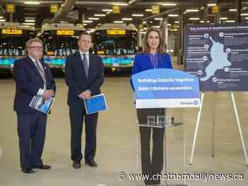 Ford Tories outline Southwestern Ontario transport plan after axing high-speed rail