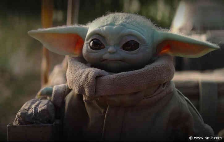George Lucas, the father of Star Wars, has finally met Baby Yoda