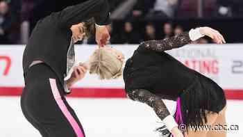Gilles, Poirier rebound from unusual wardrobe malfunction to win short dance