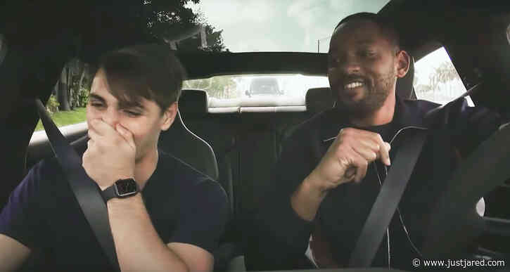 Will Smith Gets Behind the Wheel to Surprise Lyft Passengers - Watch Now!