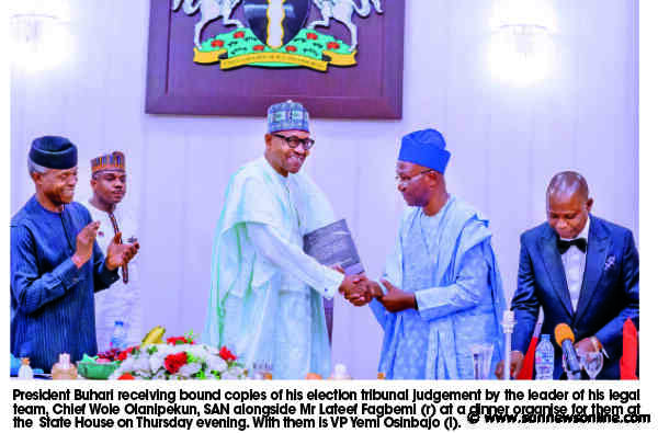 I'm a beneficiary of free, fair election, will bequeath same –Buhari