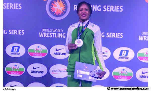 Sports Minister praises Adekuroye for Gold feat in Rome