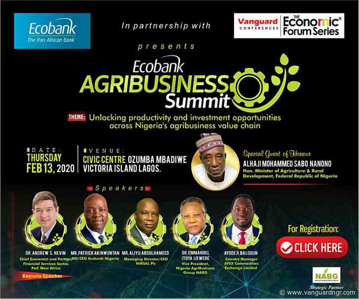 Ecobank Partners NIRSAL, USAID, others to increase loans to Nigerian farmers