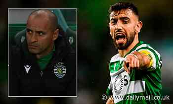 Sporting boss Silas says Bruno Fernandes 'deserves' to play in the Premier League