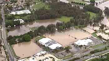 Buschfeuer und heftiger Regen: Wetterextreme haben Australien fest im Griff