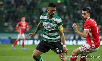 Manchester United's bid for Sporting Lisbon star Bruno Fernandes stalls