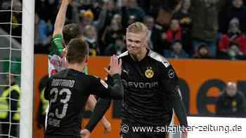 18. Spieltag: Haalands Traumdebüt rettet BVB - Leipzig siegt gegen Union