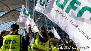 Kabinengewerkschaft: Ufo kündigt weiteren Streik bei der Lufthansa an