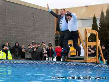 More people step up to take the 'Polar Plunge'