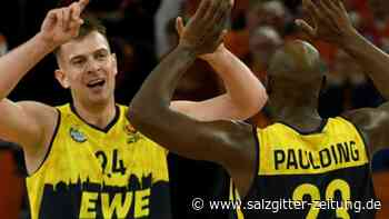 BBL: EWE Baskets Oldenburg festigen Platz vier