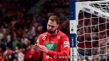 Niederlage gegen Kroatien: Trotz Weltklasse-Wolff: Deutsche Handballer vor EM-Aus