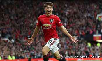 Daniel James insists Man United won't be underdogs against Liverpool, as he reveals Giggs' advice