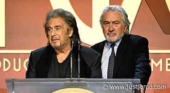 Robert De Niro & Al Pacino Present Together at Producers Guild Awards 2020