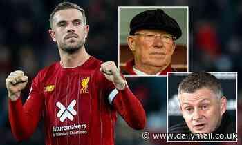 How Liverpool's Jordan Henderson has had the last laugh over Sir Alex Ferguson