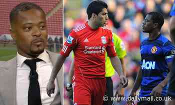 Patrice Evra received a letter from Liverpool apologising for how they handled Luis Suarez race row