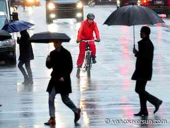 Vancouver weather: Good old reliable rain